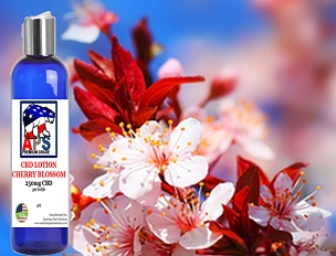 Japanese Cherry Blossom CBD Lotion- 250mg CBD